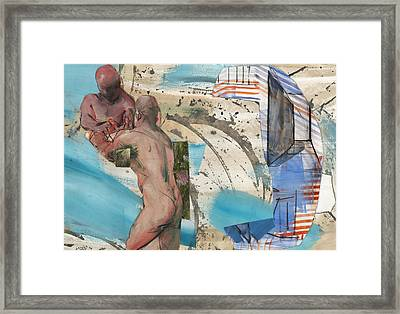Building The Hanging Gardens Framed Print by Laddy Norwood