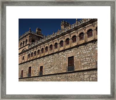Framed Print featuring the photograph Building Trim by Farol Tomson