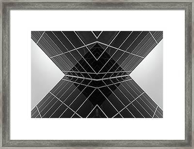Building X Framed Print