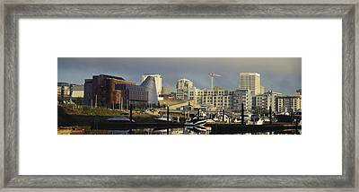 Buildings At The Waterfront, Thea Foss Framed Print by Panoramic Images