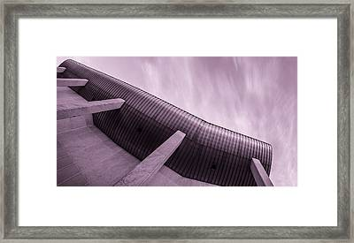 Buildings In The Sci-fi Sensation Panorama Framed Print by Tommytechno Sweden
