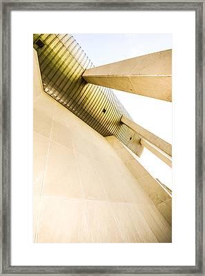 Buildings  The Sci-fi  Feeling Framed Print by Tommytechno Sweden