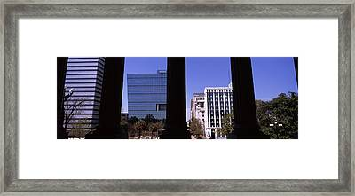 Buildings Viewed From South Carolina Framed Print