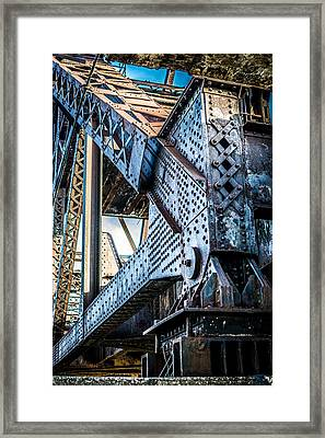 Built By U.s. Steel Framed Print
