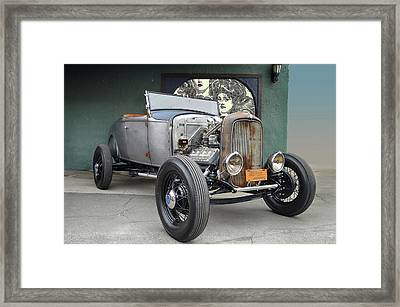 Built For Flat Out Framed Print by Bill Dutting