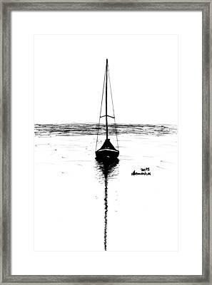 Built For Water Framed Print by Kayleigh Semeniuk