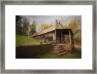 Built In The Berm Framed Print by Jonas Wingfield