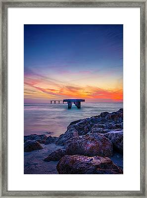 Built On The Horizon Framed Print by Marvin Spates