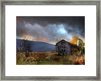 Built To Last Framed Print by Lori Deiter