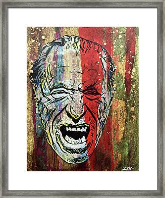 Bukowski Framed Print