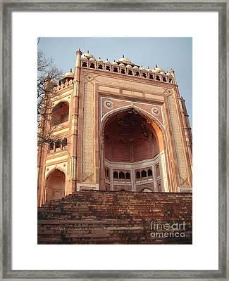 Buland Darwaza - Fatehpur Sikri  Framed Print