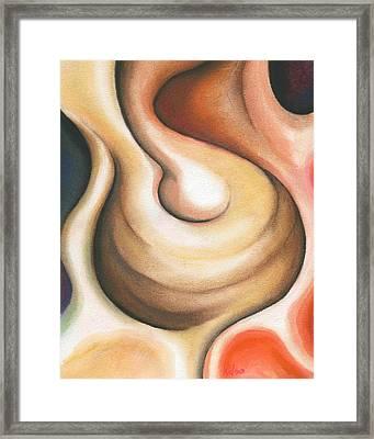 Bulb Framed Print by Bonnie Kelso
