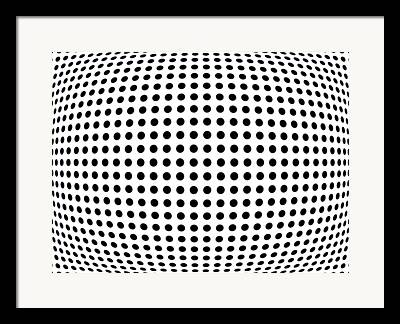 Op Art Framed Prints