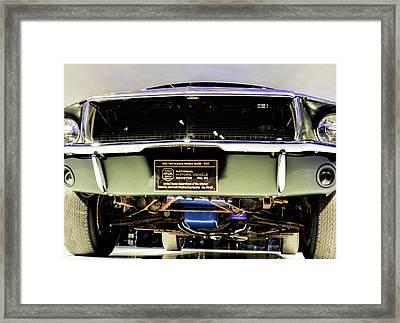Bulitt Front View Framed Print
