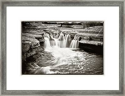 Bull Creek Water Run Framed Print