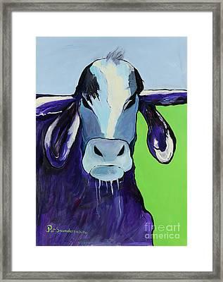 Bull Drool Framed Print