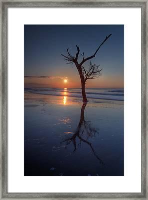 Bull Island Sunrise Framed Print