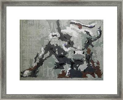 Bull Market G Framed Print by John Henne