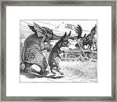 Bull Moose Campaign, 1912 Framed Print