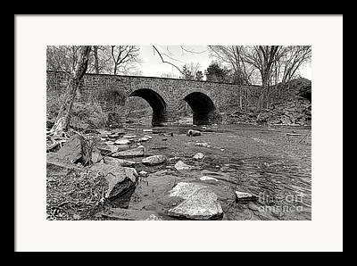 Civil War Battle Site Photographs Framed Prints