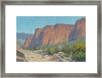 Bulldog Cliffs Framed Print by Cody DeLong