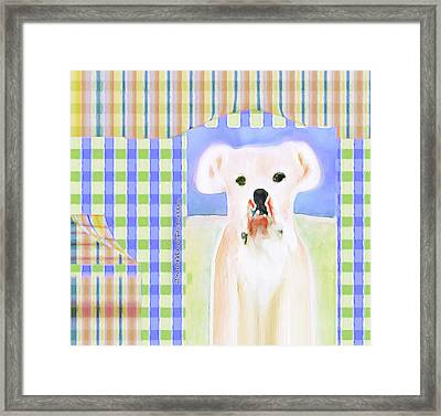 Bulldog Rana Art 40 Framed Print