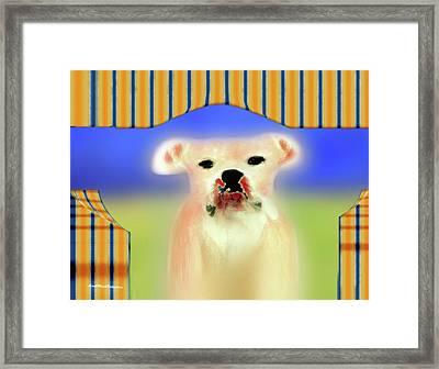 Bulldog Rana Art 72 Framed Print