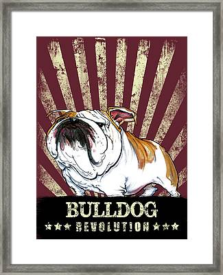 Bulldog Revolution Framed Print