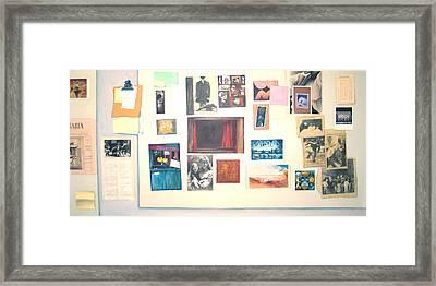 Bulletin Board Framed Print by James LeGros