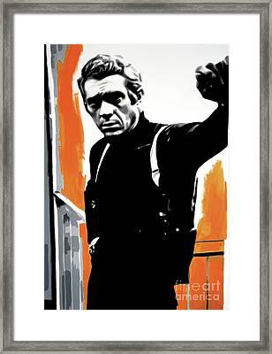 Bullitt Framed Print by Luis Ludzska