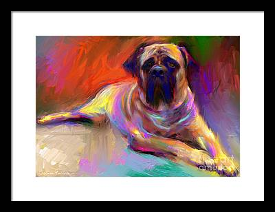 Mastiff Framed Prints