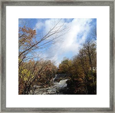 Bulls Bridge Framed Print