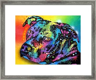 Bullseye Framed Print by Dean Russo