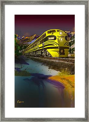 Bumble Bee F Unit Zephyr Framed Print