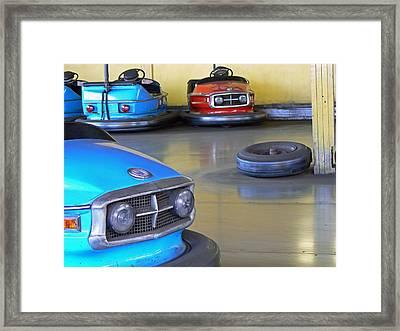 Bumper Cars  Framed Print by Pamela Patch