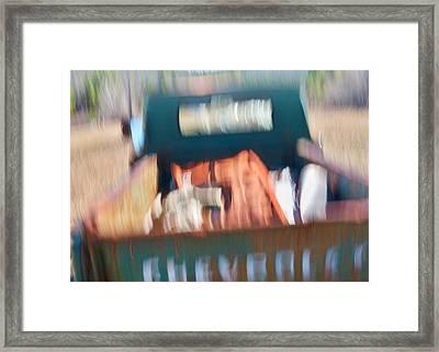 Bumpy Road Framed Print