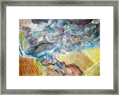 Bumpy Twister Framed Print by Jame Hayes