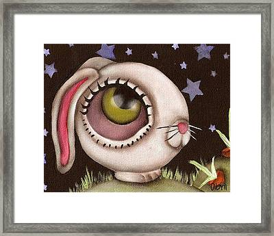 Bun Framed Print by  Abril Andrade Griffith