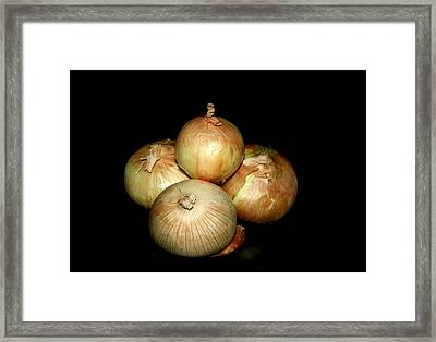 Bunch Of Onions Framed Print