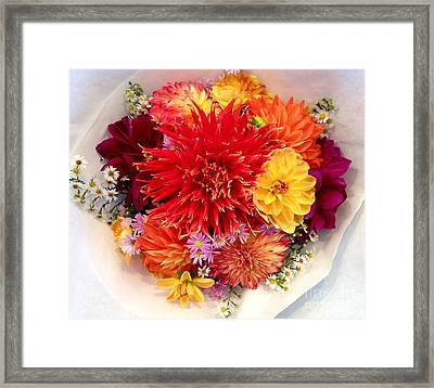 Bunches Of Love Framed Print