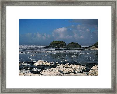 Bundoran Co Donegal Framed Print by Martina Fagan