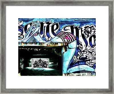 Bunker Gurp_01 Framed Print
