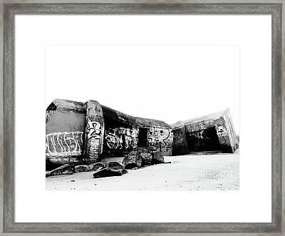 Bunker Gurp_06 Framed Print