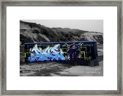 Bunker Gurp_08 Framed Print