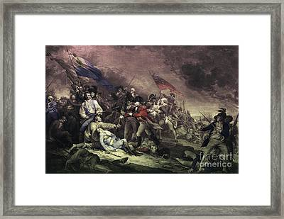 Bunker Hill Framed Print by Omikron