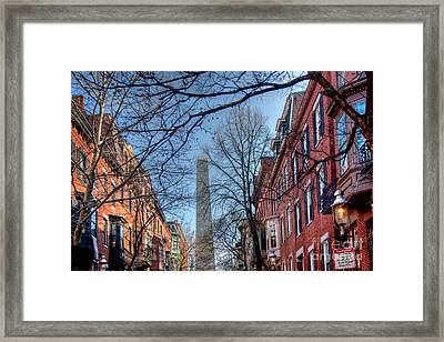 Bunker Hill Framed Print by Susan Cole Kelly
