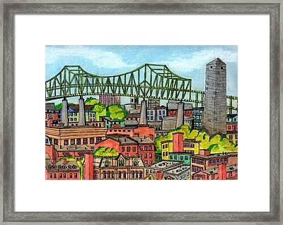 Bunkerhill And Tobin Framed Print