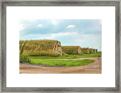Bunkers Framed Print