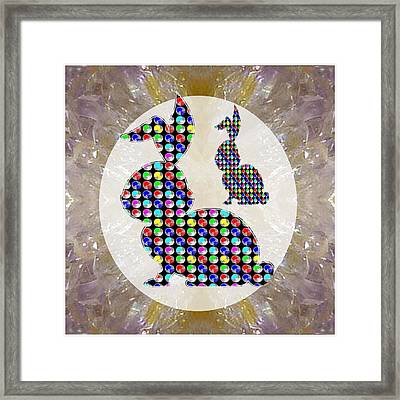Bunny Rabbit Pet That Kids Play A Lot Download Option For Your Self Printing Craft N Web Avataar Img Framed Print