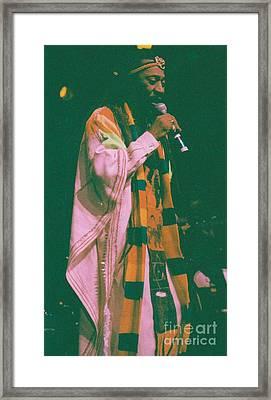 Bunny Wailer Framed Print